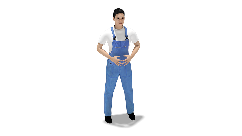 spodnie ogrodniczki robocze